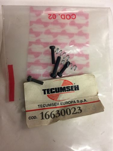 Tecumseh 16630023 carb adjuster screws and springs